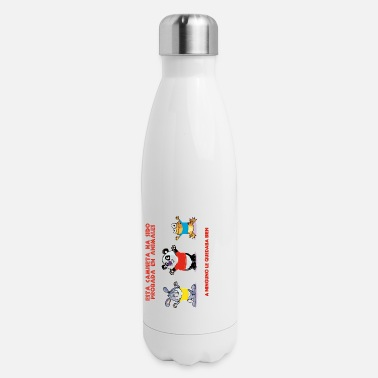 Investigacion Camiseta probada en animales - Insulated Stainless Steel Water Bottle