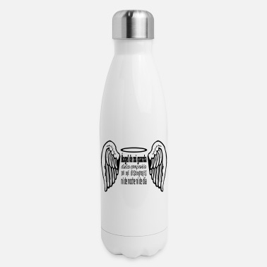 Ángel Angel de mi guarda - Insulated Stainless Steel Water Bottle