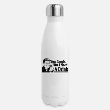 Drinking Contest Beer pong drinking contest shirt saying alcohol - Insulated Stainless Steel Water Bottle