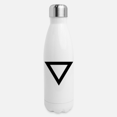 Long-sleeved-shirts triangle Long Sleeve Shirts - Insulated Stainless Steel Water Bottle