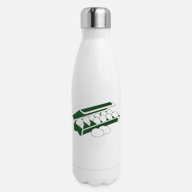 Carton Carton of eggs - Insulated Stainless Steel Water Bottle