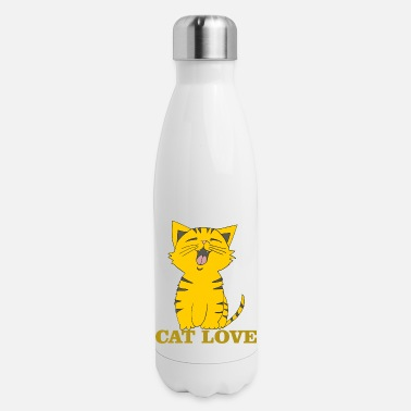 Cat Love cat love - Insulated Stainless Steel Water Bottle