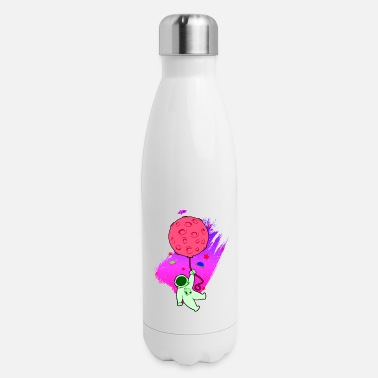 Asterisk Astronaut Moon UFO - Insulated Stainless Steel Water Bottle