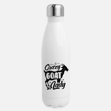 Crazy Goat Lady Crazy Goat Lady - Insulated Stainless Steel Water Bottle