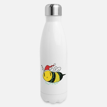 Oh Christmas Bee - Insulated Stainless Steel Water Bottle