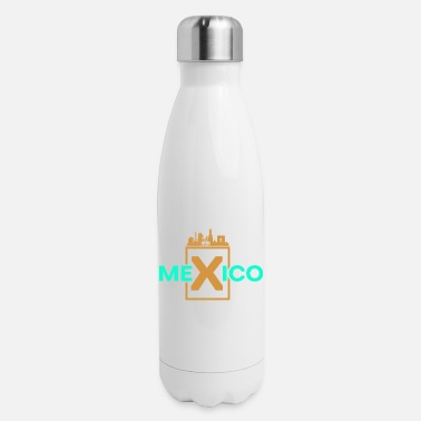 Central Mexico Mexico Country Travel - Insulated Stainless Steel Water Bottle