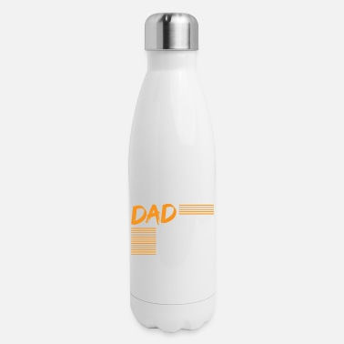 School Bus Dad Father Bus Driver Profession Job Gift - Insulated Stainless Steel Water Bottle