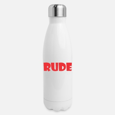 Rude Rude - Insulated Stainless Steel Water Bottle