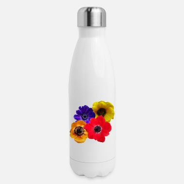 bloom, blooming, blossom, flowery, flowers, floral - Insulated Stainless Steel Water Bottle