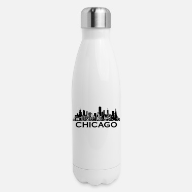 Chicago chicago - Insulated Stainless Steel Water Bottle