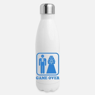 Game Over Game Over - Insulated Stainless Steel Water Bottle