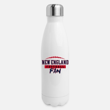 England New England Football Fan - Insulated Stainless Steel Water Bottle
