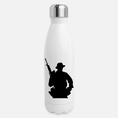 Grenadier Army Ranger, Soldier, Mercenary - Insulated Stainless Steel Water Bottle