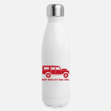 Off Way destination offroad vehicle gift - Insulated Stainless Steel Water Bottle