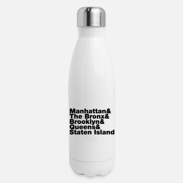 5 Boroughs Five Boroughs ~ New York City - Insulated Stainless Steel Water Bottle