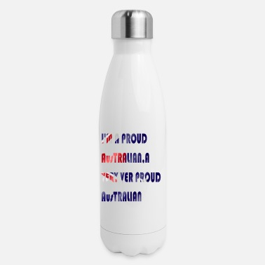 Australian Cattle Dogs Cartoon Quotes Australian pride t-shirt promotions - Insulated Stainless Steel Water Bottle
