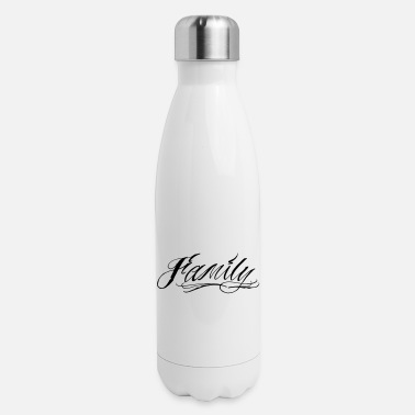 Script family script - Insulated Stainless Steel Water Bottle