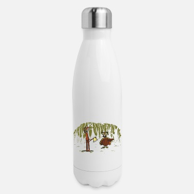 Over Over there - Insulated Stainless Steel Water Bottle