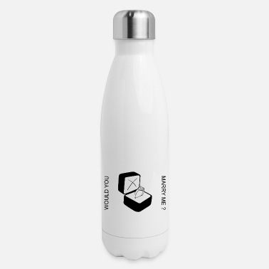 Bagu MARRY ME - Insulated Stainless Steel Water Bottle