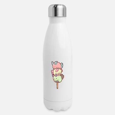 Online Kawaii Sea Slug Dango - Insulated Stainless Steel Water Bottle