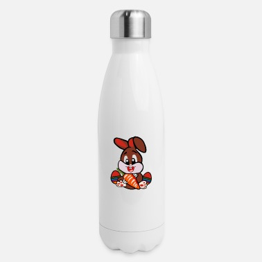 Brown Eatser Bunny - Insulated Stainless Steel Water Bottle