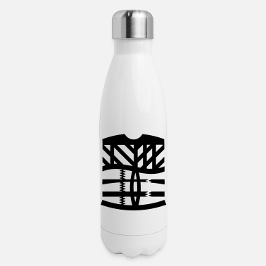Graphic Art an abstract graphic tattoo - Insulated Stainless Steel Water Bottle