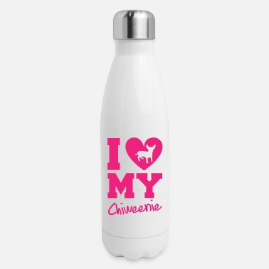I Love My Chiweenie - Insulated Stainless Steel Water Bottle