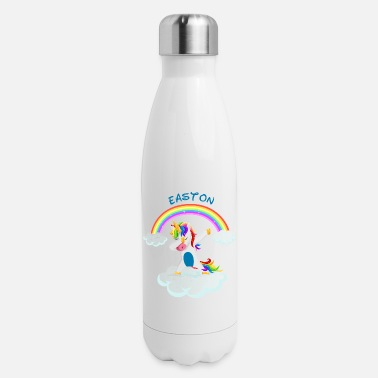 Easton Easton dabbing unicorn gift idea disco - Insulated Stainless Steel Water Bottle