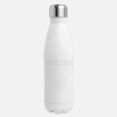 Tape Duct Tape It Can't Fix Stupid But It Can Muffle - Insulated Stainless Steel Water Bottle