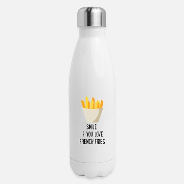 Fries French Fries - Insulated Stainless Steel Water Bottle