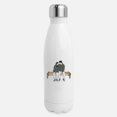 Couples couple - Insulated Stainless Steel Water Bottle