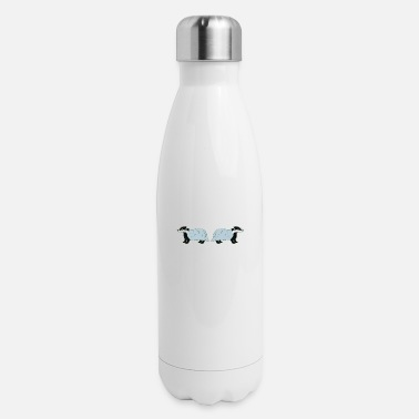 Explorer Badger Gift They Call Me The Cool Animal Design - Insulated Stainless Steel Water Bottle