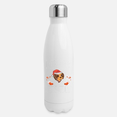 Christmas Dog - Insulated Stainless Steel Water Bottle