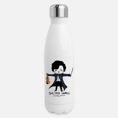 Holmes Sherlock is Not a Psychopath - Insulated Stainless Steel Water Bottle