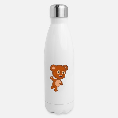 Teddy Bear Bear Teddy Bear - Insulated Stainless Steel Water Bottle