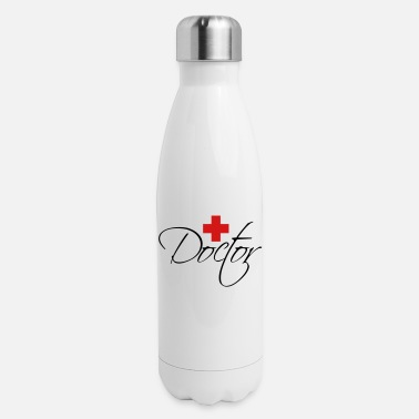 Kreuz Kreuz Logo Design Doctor - Insulated Stainless Steel Water Bottle