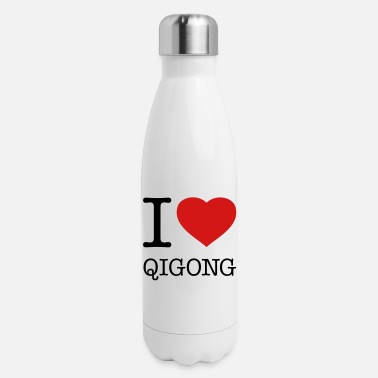 Qi Gong I LOVE QI GONG - Insulated Stainless Steel Water Bottle