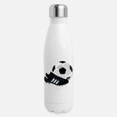 Football Cleats Soccer Cleats - Insulated Stainless Steel Water Bottle