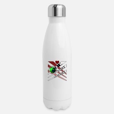 Planetcontest One Planet - Insulated Stainless Steel Water Bottle
