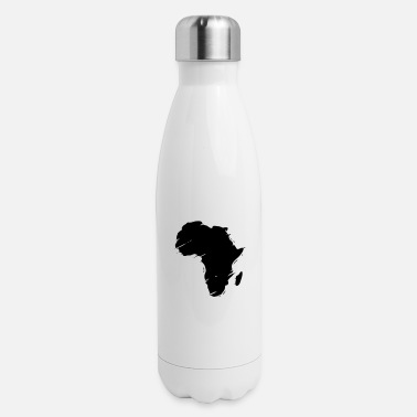 Africa Map africa map - Insulated Stainless Steel Water Bottle