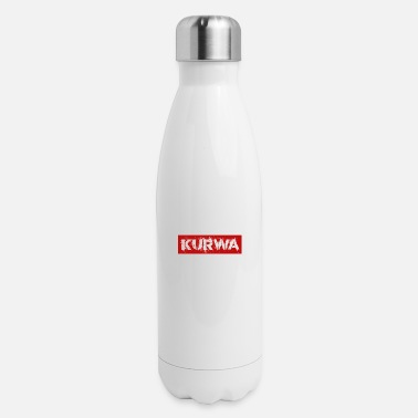 Polish Kurwa polish - Insulated Stainless Steel Water Bottle