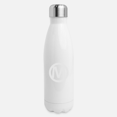 Logo Mario logo 1 color - Insulated Stainless Steel Water Bottle