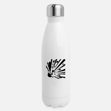 Explosion Explosive! - Insulated Stainless Steel Water Bottle