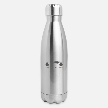 Street Surfer Street Racing - Insulated Stainless Steel Water Bottle