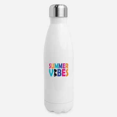 Swim Summer vibes vacation sun gift beach beach - Insulated Stainless Steel Water Bottle