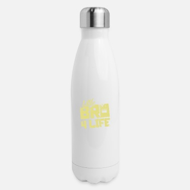 Brother Little Brother Brother - Insulated Stainless Steel Water Bottle