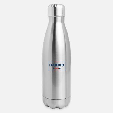 Anti Racism KAMALA HARRIS 2024 - Insulated Stainless Steel Water Bottle