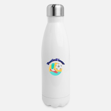 Football player - Insulated Stainless Steel Water Bottle