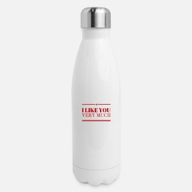 Pick Up Line I Feel Attracted To You - Insulated Stainless Steel Water Bottle
