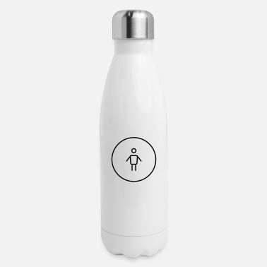 Person Person - Insulated Stainless Steel Water Bottle